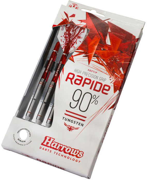 Šipky Harrows - SOFTIP RAPIDE  STYLE A T90% gK 18 gram