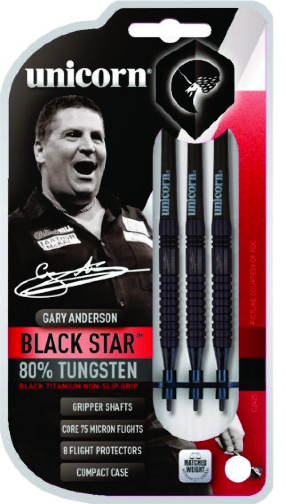 23216-ŠIPKY T-80% BLACK STAR G.ANDERSON 17 gram - sleva 30% !!! AKCE0911 akce do