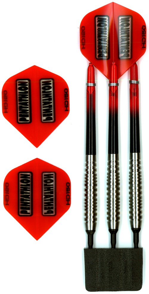 Šipky Powerdart  TUNGSTEN 80% SPECTRUM RED 18 gr.