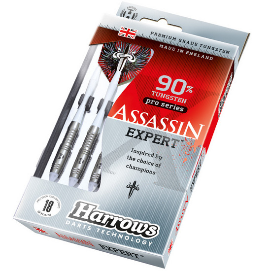 Šipky Harrows - SOFTIP ASSASSIN EXPERT AX1 T90% 18 gram