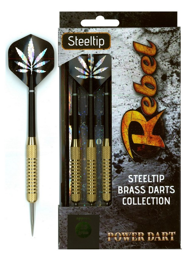 Šipky Powerdart  STEEL REBEL 20 gr.