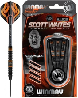 Šipky Winmau Scott Waites Black Tungsten 23 gram